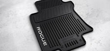 NISSAN ROGUE ALL SEASON RUBBER FLOOR MATS 2014+ , GENUINE NISSAN ACCESSORY !