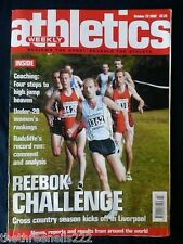 ATHLETICS WEEKLY - COACHING HIGH JUMP - OCT 23 2002