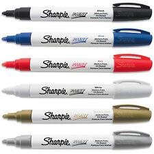 Sharpie Paint Marker Pen Oil Based Med Point 6 Color Kit