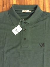"""NWT  C & K  CK Jeans Polo Casual Shirt """"S"""" Golf NEW -- FREE SHIPPING!!"""