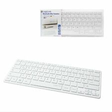 LOGILINK BLUETOOTH 3.0 SLIM TASTATUR WEISS WINDOWS MAC ANDROID PC PHONE TABLET