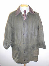 "A123 Barbour Gamefair Waxed jacket - M 40"" Euro 50 in Sage Green"