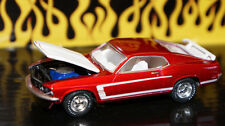 1/64 SCALE RED 1969 FORD MUSTANG BOSS 302 DIECAST CAR COLLECTIBLE GREENLIGHT