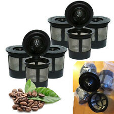 3X Black Reusable Coffee Capsule Cup for Nespresso Coffee Machine Refillable New