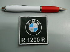 toppa patch BMW MOTORRAD R 1200 R  emblem embroidery ricamato termoadesivo 6x6