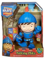 NEW Fisher Price Mike the Knight Talking Mike Figure Boys 2012