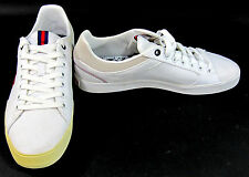 LaCoste Shoes Newsome VY7 SPM White/Red Sneakers Size 8 EUR 40.5