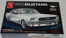 AMT Mustang 1965 Hardtop 1/16 scale(50 Years Series) plastic car model kit 0872