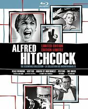 Alfred Hitchcock:The Essentials Collection (5-Blu-ray Movies Set) NEW Digipak
