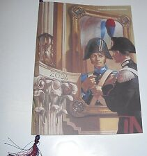 CALENDARIO STORICO DELL'ARMA DEI CARABINIERI 2004  con cordoncino