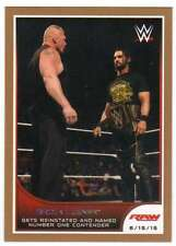 2016 Topps WWE Road to Wrestlemania Bronze Parallel #49 Brock Lesnar