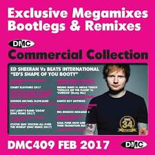 DMC Commercial Collection 409 Club Hits Mixes & Two Trackers DJ Double Music CD