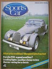 Sports Car Mechanics February March 1985 Morgan Plus 8 Vitesse Porsche 924 GTM