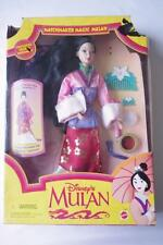 "Disney Matchmaker Magic Mulan Doll Mattel 12"" with Clothing and Accessories"