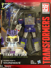 Transformers Generations Titans Return Wave 2 Leader Soundwave NEW
