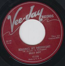 "BILLY BOY ARNOLD Kissing At Midnight VEE JAY Re.45 7"" Killer 1956 R&B Smash HEAR"