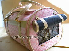 CR009 Pink Size L/XL Cat Pet Dog Cat Carrier Airline Approved