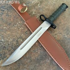 "13.5"" Bayonet US Military Tactical Combat Hunting Knife Fixed Blade 6772 s"