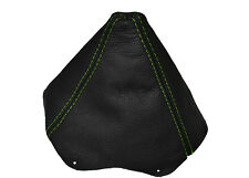 GREEN STITCHING  LEATHER GEAR GAITER FITS FORD PROBE 1993 TO 1997