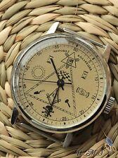 "RAKETA   ""Masonic ""  Good Mens Wrist Watch  Vintage   2609NA  nж"