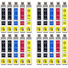 20 Cartouches d'encre pour Epson Stylus DX4000 DX6000 DX8450 BX600FW SX115 SX405