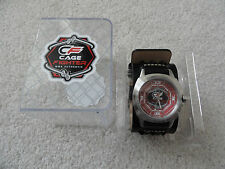 New Cage Fighter MMA Authentic Quartz Men's Watch