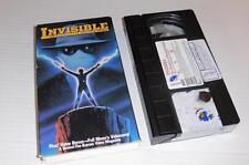 VHS Video ~ Invisible: The Chronicles of Benjamin Knight ~ USA Ex-Rental