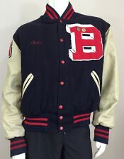 Holloway Original College Jacket Blackburn Varsity Men's XL Blue Red
