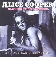 Alice Cooper Slicker Than a Weasel cd