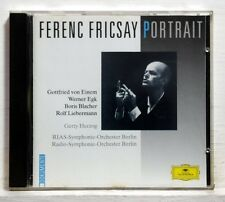 FRICSAY - LIEBERMANN furioso BLACHER paganini-var EGK EINEM - DGG CD NM
