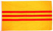 SOUTH VIETNAM FLAG 5' x 3' Old Republic of Vietnamese Asia Asian Flags