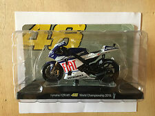"DIE CAST "" YAMAHA YZR-M1 WORLD CHAMPION 2010 "" VALENTINO ROSSI 1/18"