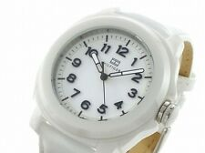 BRAND NEW TOMMY HILFIGER 1781182 WHITE CERAMIC CASE PATENT LEATHER WOMEN'S WATCH