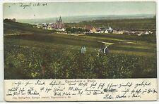 Oppenheim am Rhein Totalansicht 1909 in die USA