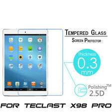 """For Teclast X98 Pro 9.7"""" Real Tempered Glass Screen Protector Film Tablet Cover"""