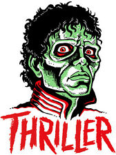 THRILLER • Mani-Yack Iron-On Transfer • Retro Monster Design!!!