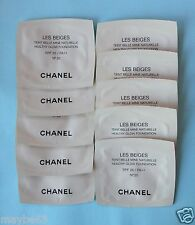 CHANEL LES BEIGES Healthy Glow Foundation No. 20 sample sachets 7ml SPF 25 PA++
