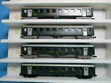 Lima Wagenkonvolut 4 SBB Eilzugwagen grün 4-achsig EP.III,o.Verpackung,M 1:160,