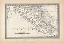 1847 ANCIENT MAP ~ ASSYRIA PROPRIA MESOPOTAMIA  BABYLONIA