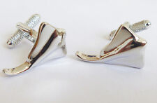 Silver Manta Ray Cufflinks & Gift Box Sting Ray Stingray Sea Animal By Onyx Art
