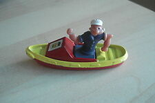 VINTAGE RETRO CORGI POPEYE DIECAST METAL BOAT COLLECTABLE