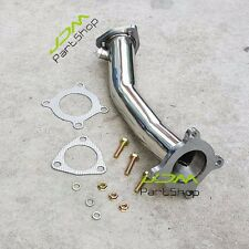 "for Audi A4 06-08 2.0L TFSI B7 2.5"" Turbo Test Pipe Decat Catless Racing Exhaust"