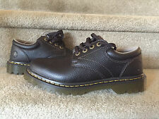 NEW MEN'S SZ 9 DOC DR MARTENS ASHFELD OXFORD CASUAL SHOES BROWN LEATHER AW004
