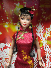 NIB~2005 PINK LABEL BARBIE~FESTIVALS of the WORLD~CHINESE NEW YEAR~GORGEOUS DOLL