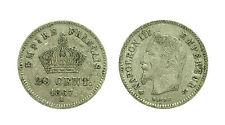 pcc1578_46) MONNAIE 20 CENT ARGENT NAPOLEON III 1867 A