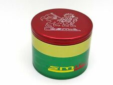 Cosmic Case Rasta Grinder - LARGE 4 Piece 2.75 Inch - Lion of Judah