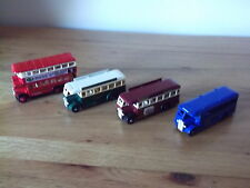 4 LLEDO PROMOTIONAL/DAYS GONE DIECAST BUSES/COACHES 'SITTINGBOURNE',GWR MUSEUM