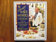 ROBIN LEACH Signed  4 X 6  Glossy Photo w/Book(LIFESTYLES OF THE RICH AND FAMOUS
