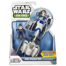 PLAYSKOOL HEROES STAR WARS JEDI FORCE BARC SPEEDER & ANAKIN SKYWALKER FIGURE
