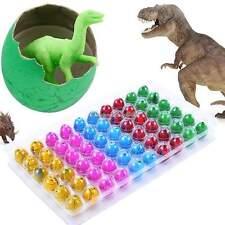 60x Lindo Magia Creciente Dino Huevo De Eclosión Dinosaurio Add Agua Niños